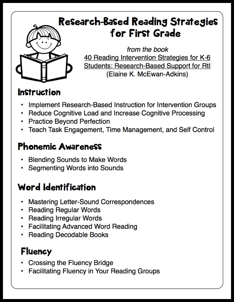 research papers teaching reading comprehension