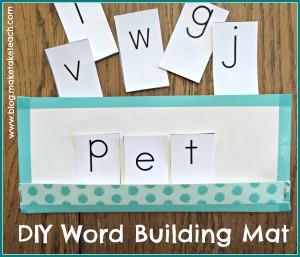 Word BuildingMat