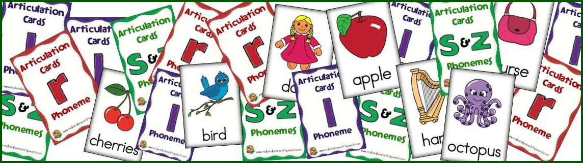 Printables- Speech/Language